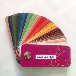 Karnet kolorystyczny JESIEŃ / AUTUMN